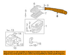 HONDA OEM 98-00 Accord Air Cleaner Intake-Duct Hose Tube 17228PAAA00