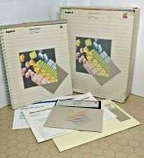 Apple IIe Quick File II for IIe Only - Pascal 1.1 Based - Includes Box & Manual