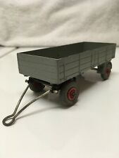 Dinky Toys No. 428 Large Trailer Gray 1954 Meccano Ltd Made In England