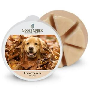 Goose Creek Candle - Wax Cube Melts - PILE OF LEAVES SCENT 2.1 oz NEW PACKAGE