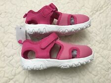 New With Tag Baby Gap Toddler Girls Spr.17 Pink Colorblock Play Sandal Shoes 8c206e837e23