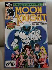 Marvel Moon Knight #1, 12, 13, 33 Marvel 1980 1st Origin 1st issue Comic Book