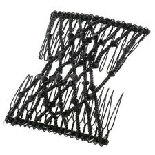 Beauty Black Bow Double Hair Combs Clips Hairstyling Design Tool For Women Girls