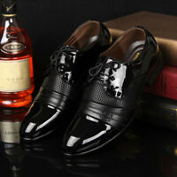 Fashion Mens Dress Formal Pointed Toe Shoes Business Casual Shoes Dress