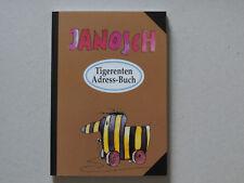 Tigerenten Adressbuch von Janosch  --- NEU ---
