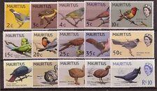 Mauritius 1965 Birds set of 15