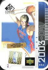 2003-04 Upper Deck SP Signature Basketball Sealed Hobby Tin