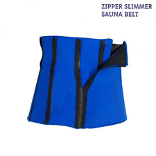 sauna slimming belt body shapper wrap whight loss fat buner Blue
