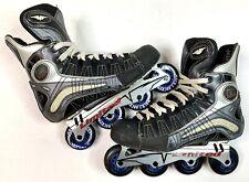 Mission D Limited DNA Inline Roller Hockey Skates 9D 243 Of 800 Made Rare