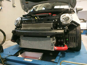 Intercooler 500 595 abarth MAGGIORATO 7,4 litri con manicotti TBF