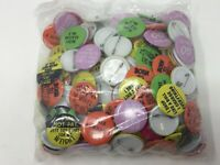 Humorous Jokes Buttons Lot of 200 Vintage MUST HAVE BEST DEAL AROUND