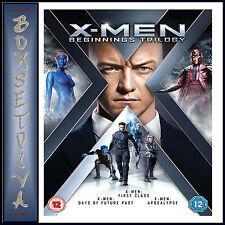 X MEN - BEGINNINGS TRILOGY - 3 FILMS   *BRAND NEW DVD**