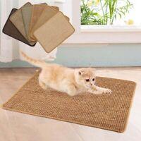 Sisal Cat Scratcher Board Scratching Post Mat for Climbing Tree Pad Cooling Mat;