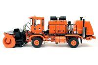 Oshkosh Truck w/ Snow Blower & Snow Plow - Orange TWH 1:50 Scale #072-01056 New!