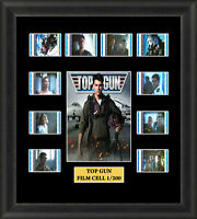 Top Gun Framed 35mm Film Cell Memorabilia Filmcells Movie Cell Presentation