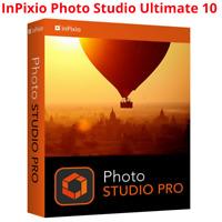 2020 New InPixio Photo Studio Ultimate10 Photo Editor Eraser Cutter Full Version