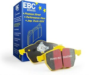 Fits-Porsche Audi EBC Brakes Yellowstuff Street And Track Rear Brake Pads