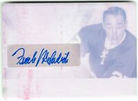 FRANK MAHOVLICH 2019-20 Leaf Ultimate MAGENTA PRINT PLATE AUTOGRAPH Real #1/1