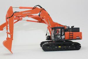 OO Hitachi Zaxis 490 + Verstellausleger + Demolition Abbruchausleger Umbau 1:50