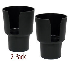 Gadjit Cup Keeper Cup Holder Adapter, Expands Car Cup Holders, Black 2 Pack