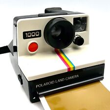 Polaroid 1000 Land Camera, Using SX-70 Film - RED Button camera - Working