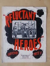 WHITEHALL THEATRE PROGRAMME 1950's - RELUCTANT HEROES - BRIAN RIX