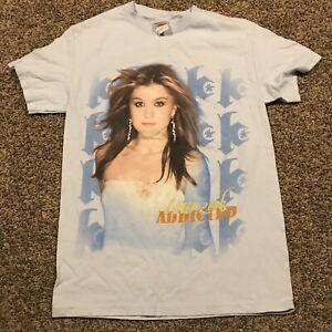 kelly clarkson 2006 Concert Tour T Shirt Size S Blue A24
