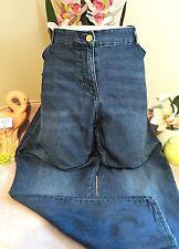 "Vêtement Occasion Femme - Jeans "" H&M + Slim - Regular Waist "" - T : 54"