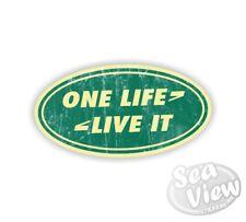 One life live it Land Rover símbolo de Pared Dormitorio Coche Furgoneta Ventana Calcomanía Adhesivo