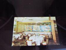Heilman's Beachcomber Restaurant Clearwater Beach FL Interior Dining Rm Vtg PC d