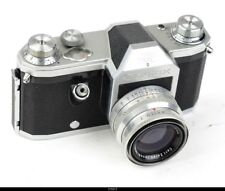 Camera Zeiss Ikon   Contax S With Lens Zeiss Biotar 2/5,8cm Red T    M42