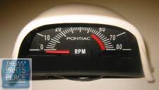 1969-72 GTO / Firebird / Trans Am Ram Air IV Hood Tach - 5500 RPM NOS Quality