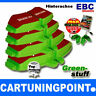 EBC Brake Pads Rear Greenstuff for RENAULT FUEGO 136 DP2189