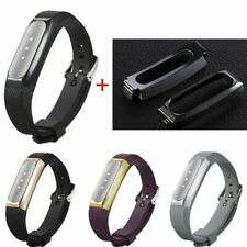 Silicone WristBand Strap Bracelet+Stainless Steel Case For Xiaomi Mi Band 1S/1A