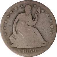 1859-S Seated Half Dollar Great Deals From The Executive Coin Company