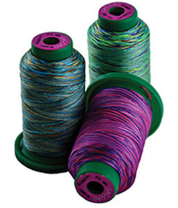 1000m Isacord thread any  Variegated  NEW IN WRAPPER
