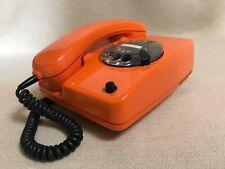 Siemens Wählscheibentelefon Bundes Post Telefon orange