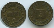 T131 Rabattmarke München 5 Pfennig TH. Kommerell Email Industrie Deusches Reich