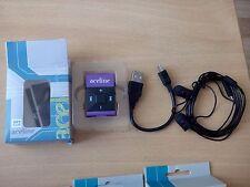 Mp3 Player Aceline, Purple&Black Color, 2.7x4x0.5cm, small gadget