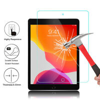 "For iPad 10.2"" 2019 7th/6th Gen 9.7"" 2018 Tempered Glass Screen Protector Cover"