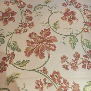 """Samuel Simpson/yorke curtain Upholstery material Summer Palace Floral 2m  54"""""""