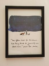 CHARLIE MACKESY FRAMED BOOK EXTRACT. ' THE BOY, THE MOLE   THE FOX AND THE HORSE