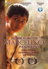 El Milagro De Marcelino Pan Y Vino DVD,  NEW,   NUEVO,  ENVIO GRATIS!! FREE SHIP