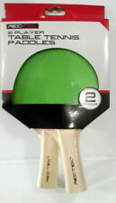 Rec-Tek 2 Player Ping Pong Paddle Set Table Tennis 5 ply Recreational Play NEW!