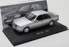 Mercedes Benz 500 SE / W140 ( 1991 ) silber met. / IXO 1:43