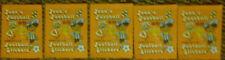 5 Tüte Panini, Jean´s Fußball Sticker WM Argentinia 78 , Europa Cup I, II, III