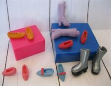 6 pair Polly Pocket Soft Boots & Shoes-fit Littlest Pet Shop Blythe Doll Lot #49