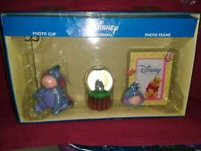 Disney Eeyore Gift Set Includes Photo Clip, Waterball & Photo Frame New