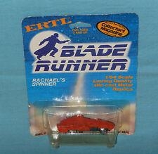 vintage ERTL BLADE RUNNER Rachael's Spinner MOC diecast