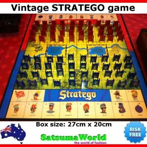 STRATEGO Vintage Game Premium Quality Battlefield Strategy Collectable Box New